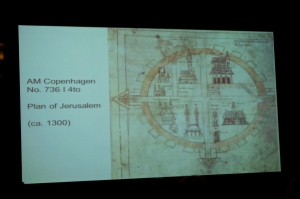13th-century plan of Jerusalem, Texts and Contexts