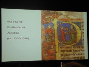 Jonsbok page, Texts and Contexts
