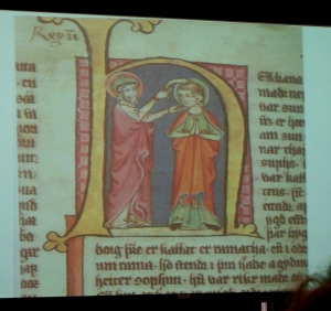 Icelandic manuscript from Texts and Contexts