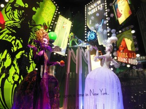 Saks Fifth Avenue window, New York City