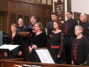 The Magpie Consort in concert at St. John's Episcopal Church