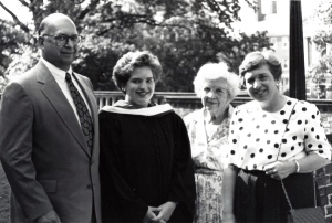 Sweet Briar College graduation , May 26, 1991