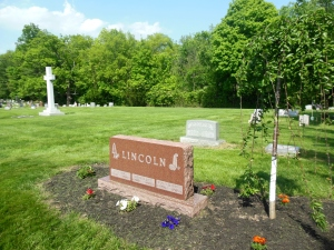 Murray Lincoln's grave, Blendon Central Cemetery, Westerville