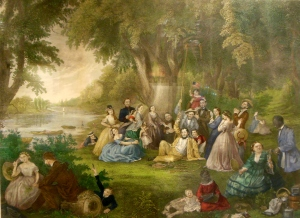 The Pic-nic, by Lilly Martin Spencer, Ohio History Connection