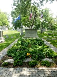 Wright family plot, Woodland Cemetery