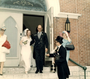 Wedding, St. Mary Church, 5/30/1968