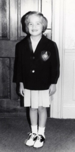 First day of first grade, September 1975