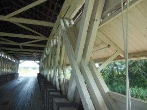 Partridge covered bridge truss, Union County