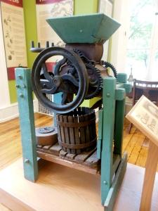 John James' cider press