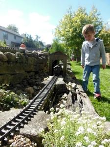 Columbus Garden Railway Society tour