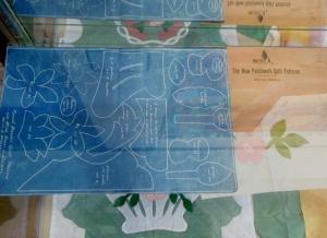 Marie Webster quilt pattern blueprint