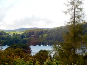 View of Lake Windermere from Lindeth Howe