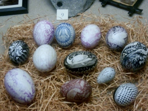 Pace eggs, Wordsworth Museum