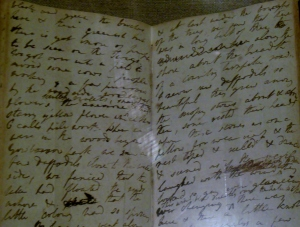 Dorothy Wordsworth journal entry about daffodils, Wordsworth Museum