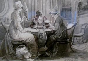 John Harden drawing, Blackwell