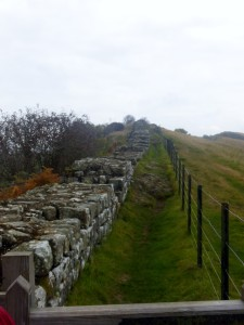 Hadrian's Wall at Cawfields