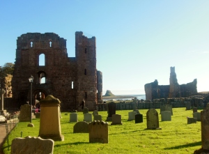 Lindisfarne Priory and Castle