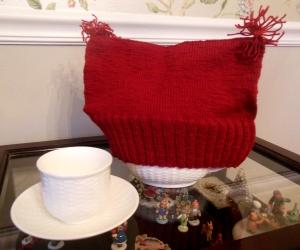 "Jane Suzanne Carroll's ""Tom Crean Tea Cozy Hat"""