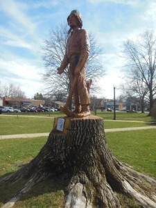 Johnny Appleseed statue, Sunbury