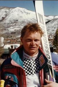 Paul Accola in Aspen, Colorado, March 1993