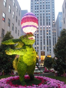 Easter display, Rockefeller Center