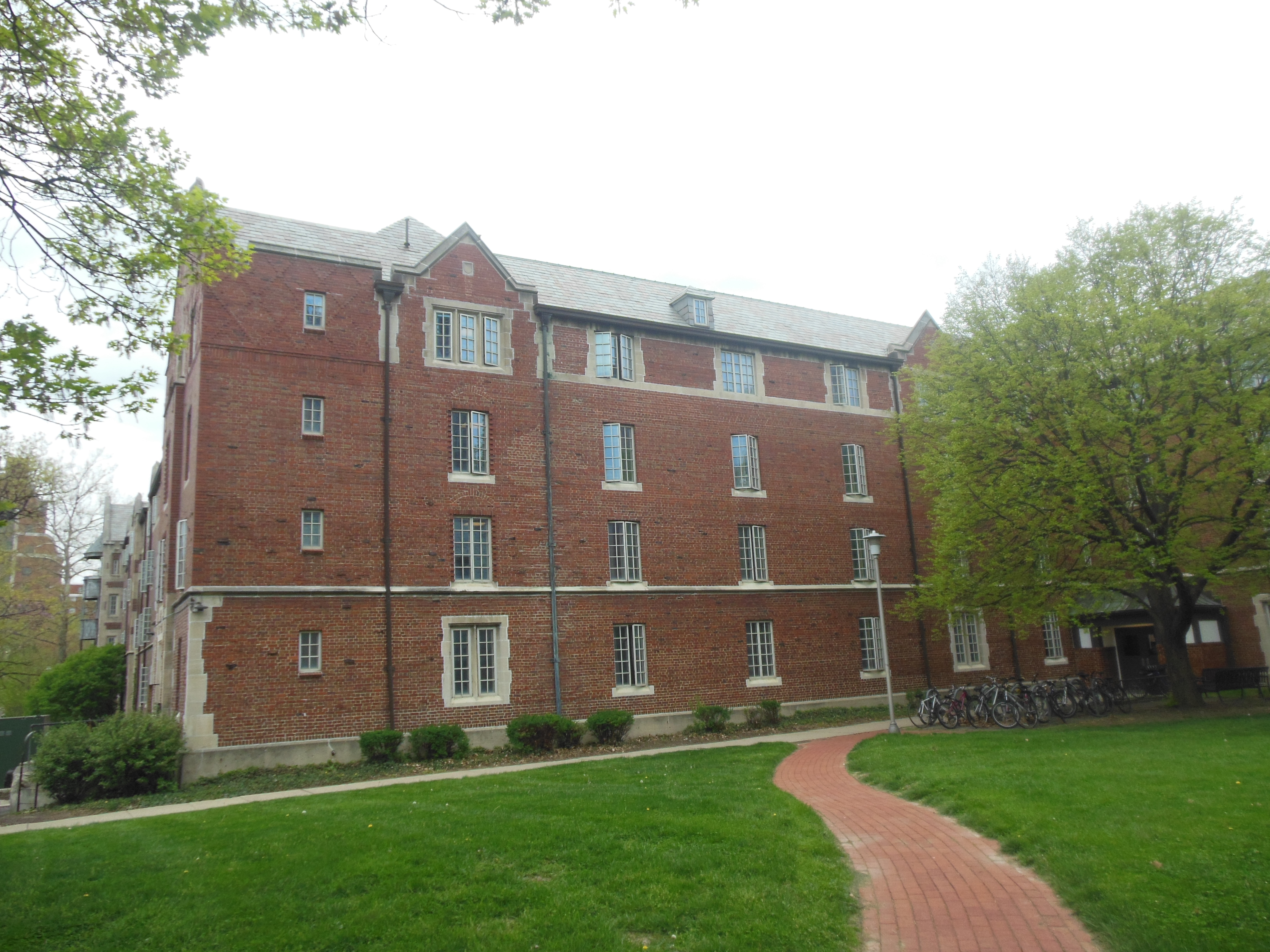 Canfield Hall, Ohio State University