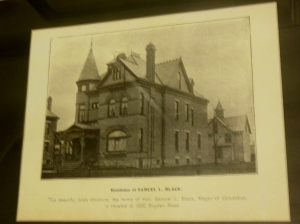 Residence of Mr. and Mrs. Samuel L. Black, 1000 Bryden Road, Columbus