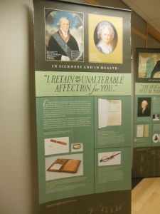 very Necessary Care and Attention: George Washington and Medicine exhibit panel
