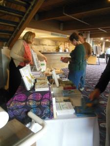 Houghton Mifflin table, Birder's Marketplace