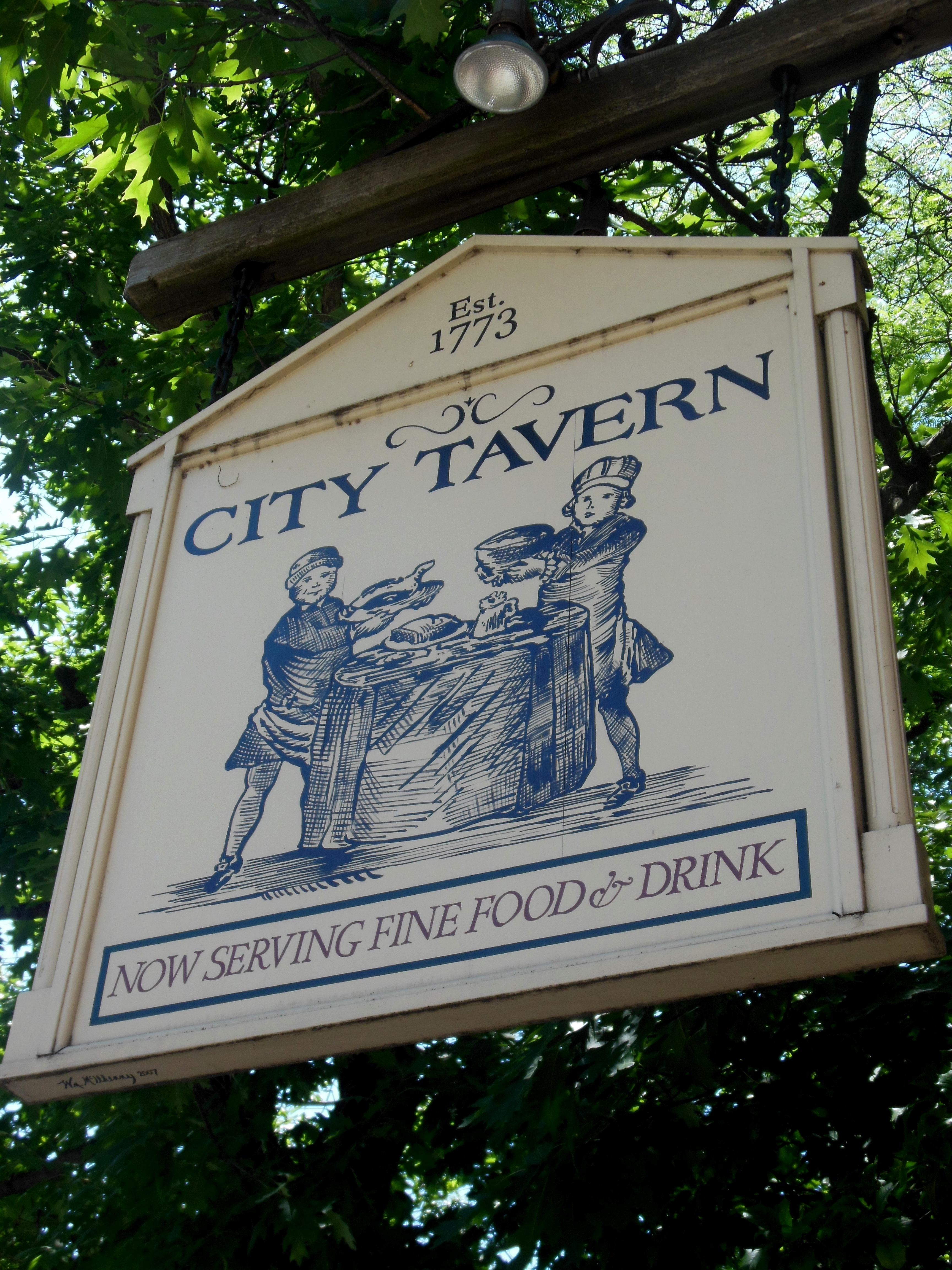 City Tavern From 1776 to 1777, Continental and British troops held military  courts-martial and housed prisoners of war there. The tavern was not only  ...