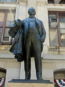 John Wanamaker statue, Philadelphia City Hall
