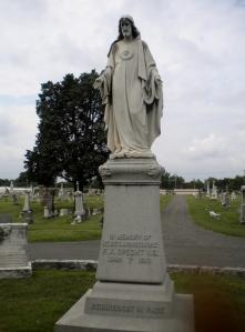 Msgr. Specht's grave, Mt. Calvary Cemetery