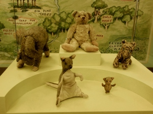 Winnie-the-Pooh, New York Public Library